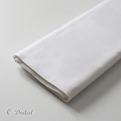 Quadrilé Branco com Tecido Liso
